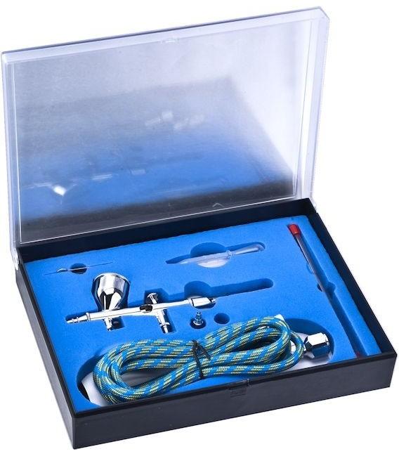 AEROGRAFO GRAVEDAD SERIE 180 full kit