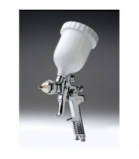 Pistola de pintura HVLP en Cromo 1.4mm