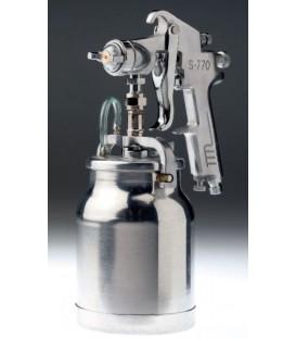 Pistola de succión de 1,8mm con depósito