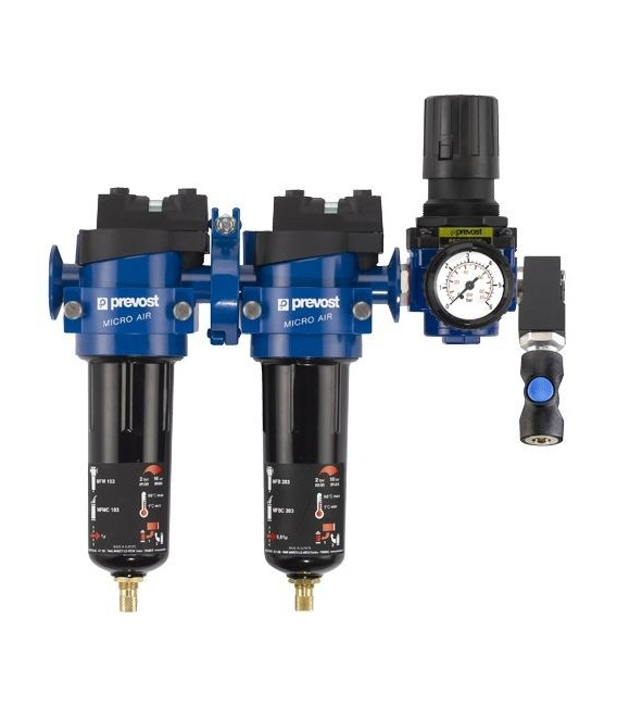 Filtros purificadores de aire para compresores y pistolas
