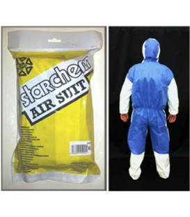 traje de protección antiestático