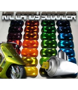 Kit Scooter pintura Candy
