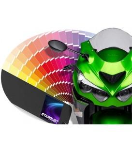 Pintura de motos para todos los colores de fabricantes - base con barniz disuelto