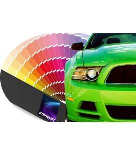 Pintura bicapa disuelta en barniz para automóviles - color de fabricante