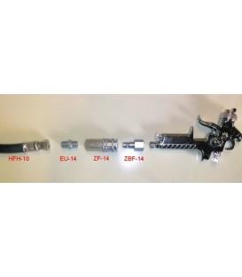 Kit de conexiones neumáticas para fijación rápida