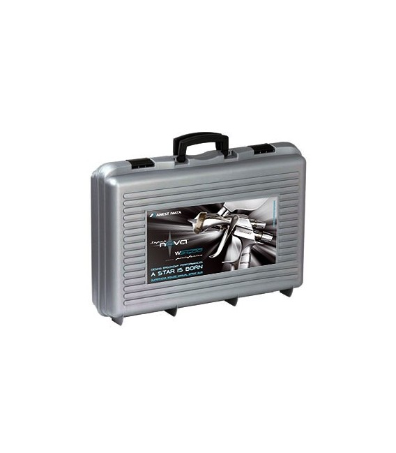 MALETÍN 2 PISTOLAS IWATA - LS400 Entech + WS400 EvoClear