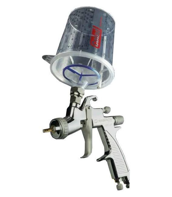 Kit de recipientes desechables de pintura para pistolas SLS® Ready2use