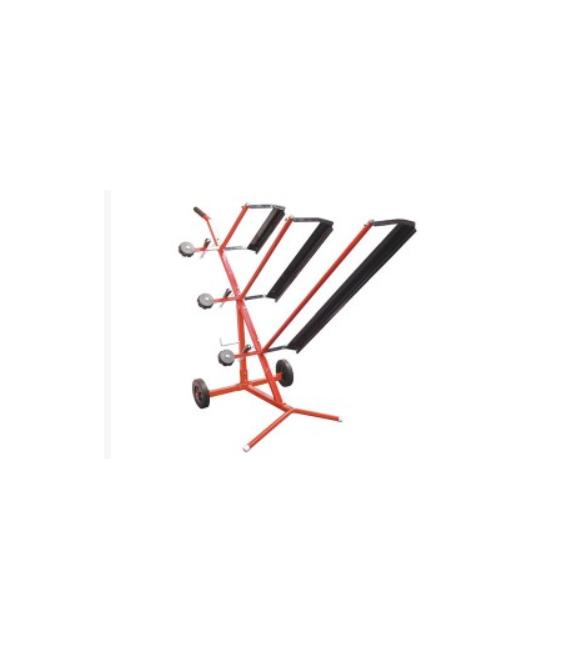 Desenrollador triple para cintas de marcado