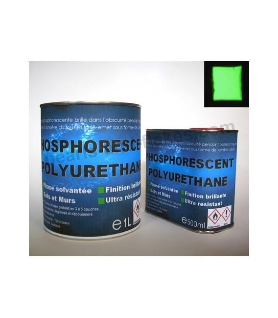 Pintura fosforescente EXTERIORES(2K) 375ml VERDE