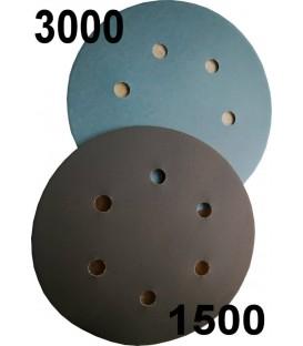 Discos de lija con velcro de grano 1500 o 3000