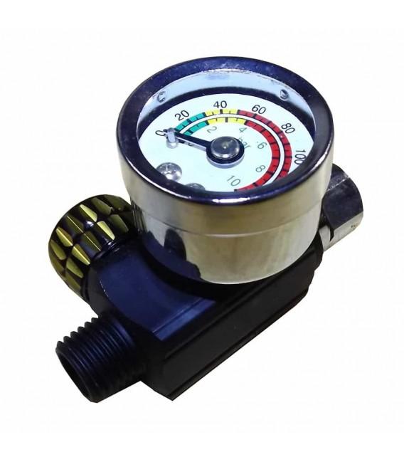 Regulador de presión para pistola de pintura