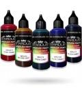 Serie Candy - 8 colores transparentes Acrílicos-PU para aerógrafo