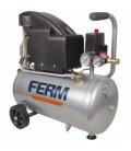 Compresor de aire 24L FERM para herramientas neumáticas