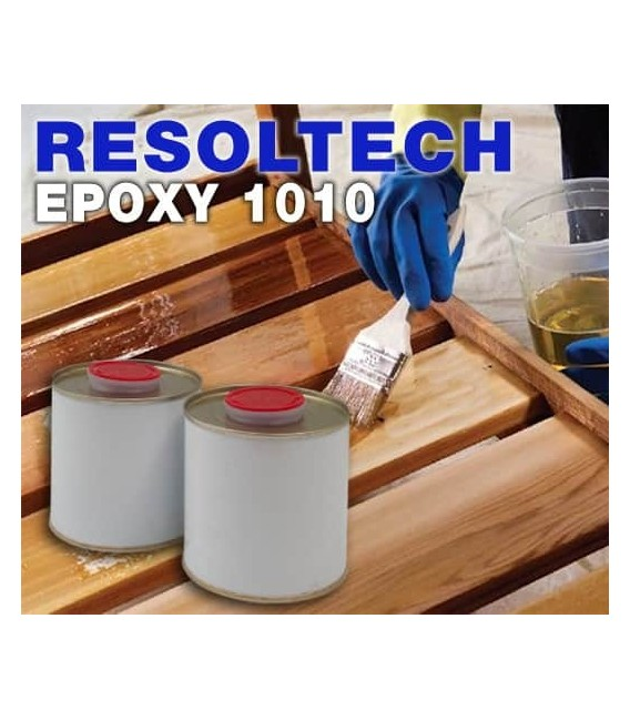 Resina Epoxi 1010 al agua para barnizado o impregnación