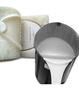 Silicona de moldeo líquida blanca - Silistar