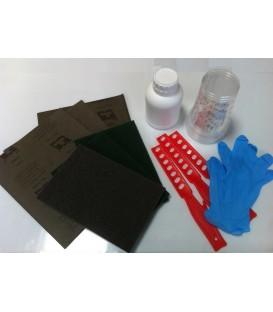 Kit de herramientas para aplicación de resina epoxi