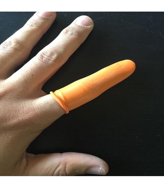 Guantes de goma para dedos