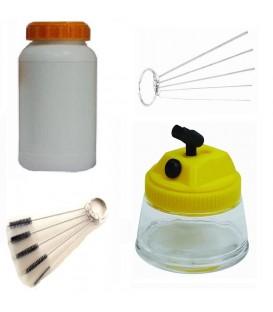 More about Kits de limpieza de aerógrafo