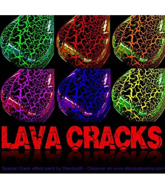 Pintura con efecto craquelado - LAVA CRACKS