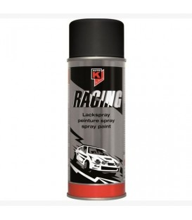 Pintura Efecto Negro Mate Racing en spray 400ml