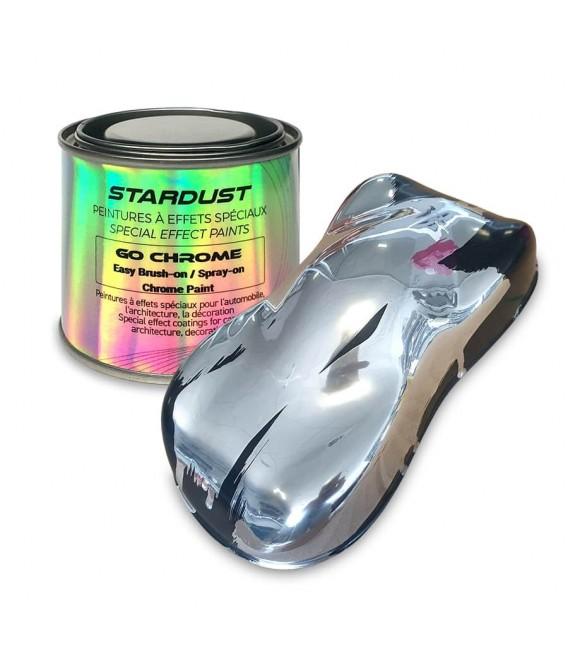 GO Chrome pintura espejo con pincel monocapa