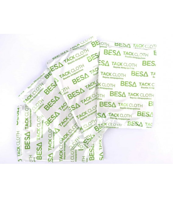 Paño antipolvo TackCloth BESA – Lote de 10