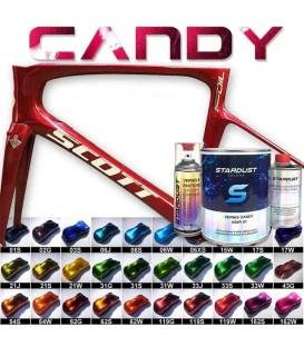 Kit completo de pintura Candy para bicicleta