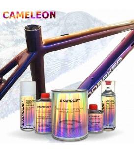 Kit completo para bicicleta - pintura con efecto camaleón