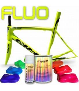 Kit completo de pintura fluorescente para bicicleta