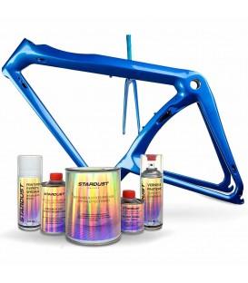 Kit completo de pintura nacarada para bicicleta