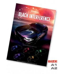 Poster pintura Interferencia