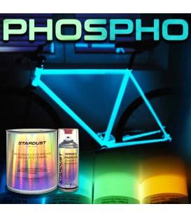 Kit completo de pintura fosforescente para bicicleta