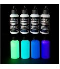 4 x 60 ML SET COMPLETO COLORES FOSFORESCENTES