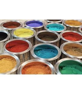 Pigmentos minerales, sintéticos y metálicos