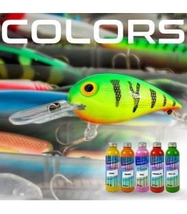 Colores y tintas para los señuelos
